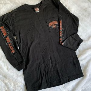 men's harley davidson long sleeve